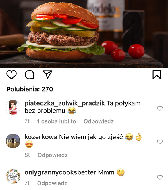 kup komentarze na instagramie