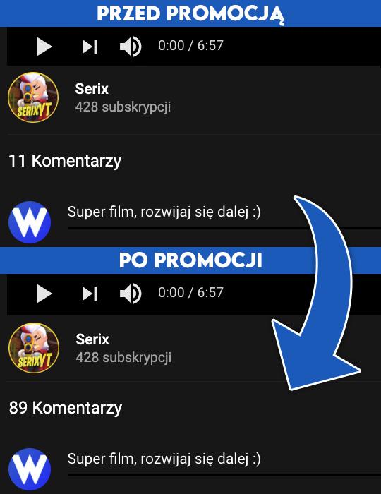 komentarze youtube kup teraz na Wypromowani